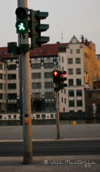Berlin- Ampelman